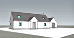 2M Architects - Housing - Cults Drive, Tomintoul, Scotland