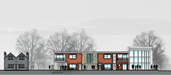 2M Architects - Housing - St. Mary's Centre, Enfield, London